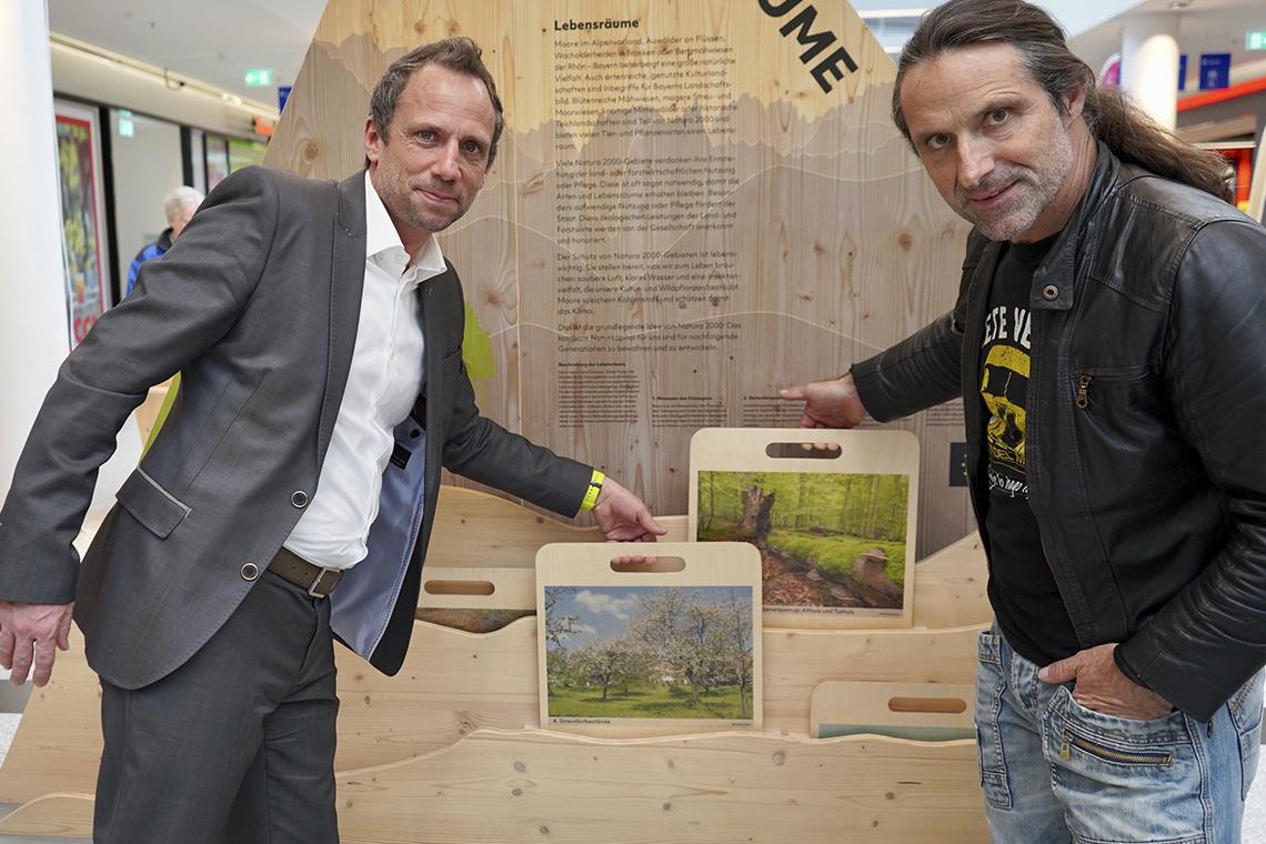 Eröffnung mit Herrn Guber (Bayerischer Staatsminister für Umwelt und Verbraucherschutz) und dem Botschafter Alexander Huber